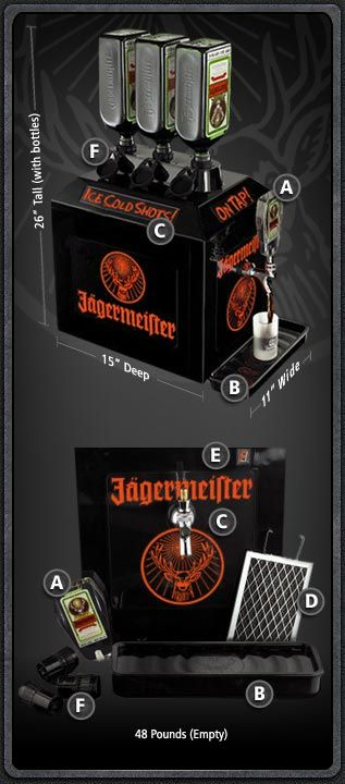 Tapmachineinc Com Jagermeister Graphic Card Cold