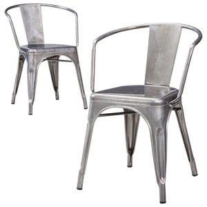 Carlisle Distressed Metal Dining Chair Set Of 2 99 Just
