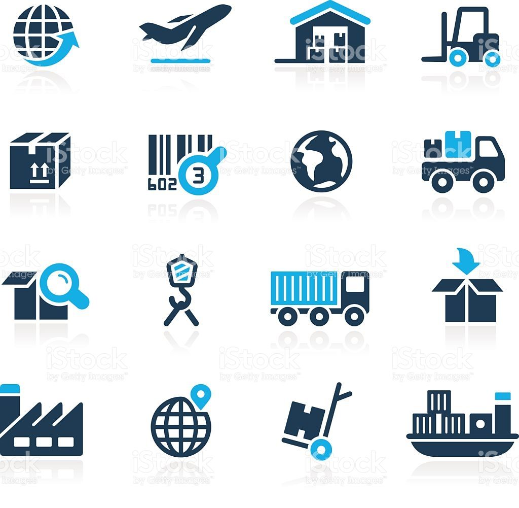 Industry And Logistics Vector Icons For Your Website Or Printed Media Logistics Logo Logistics Transportation Logistics