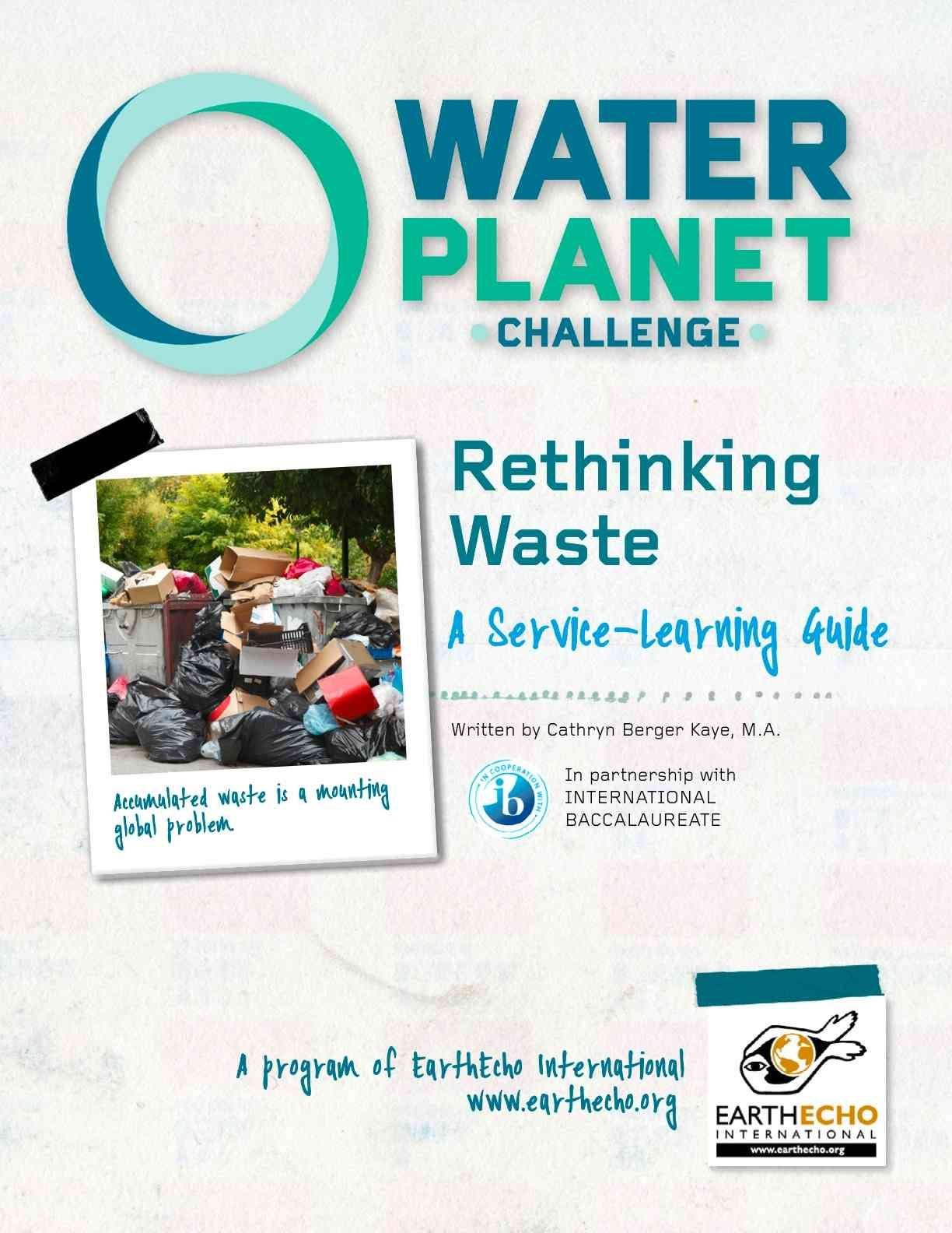 great action guides for service learning to help our environment