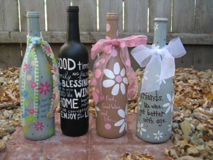 Decorate A Bottle Foloseste Sticle Pentru Ati Decora Casause Old Bottles To