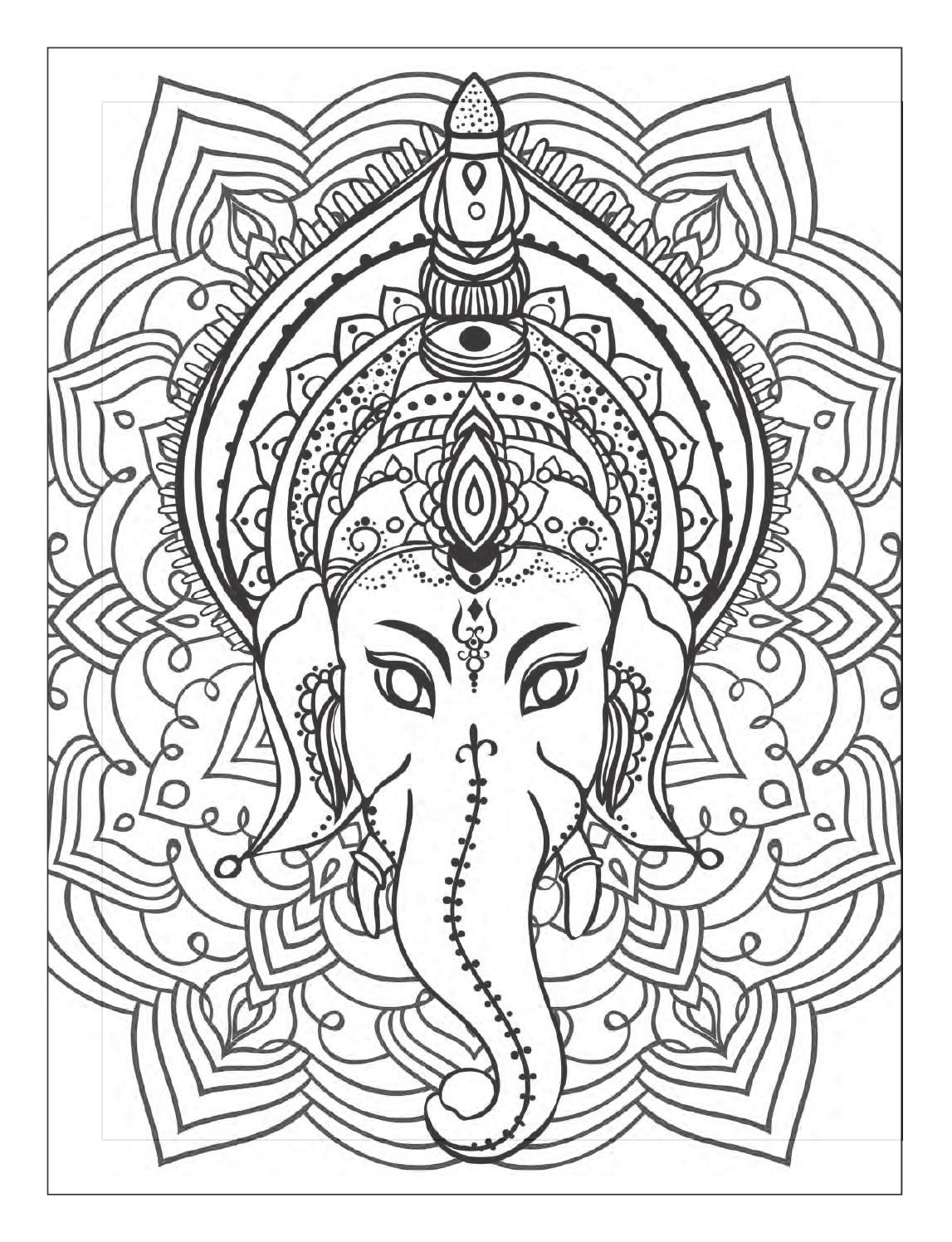 Yoga And Meditation Coloring Book For Adults With Yoga Poses And Mandalas Coloring Books Designs Coloring Books Mandala Coloring [ 1496 x 1147 Pixel ]