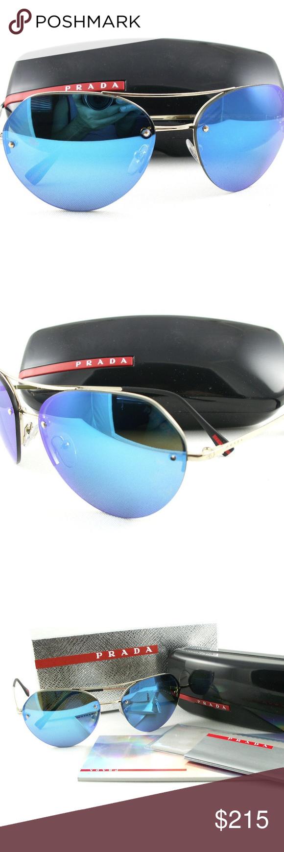 7a08ec1d5b PRADA SPORT Sunglasses PRADA SPORT 0PS 57RS ZVN5M2 59 METAL SUNGLASSES WITH  CASE MADE IN ITALY Product 66137 Bridge width 36 mm Caliber 59 mm Lens  height 51 ...