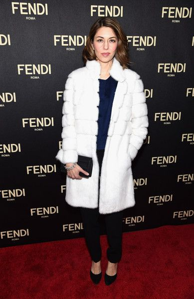 0dd7643c5acd Sofia Coppola Fur Coat - Fur Coat Lookbook - StyleBistro
