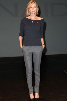 e044010b9324 Image result for charlize theron casual style