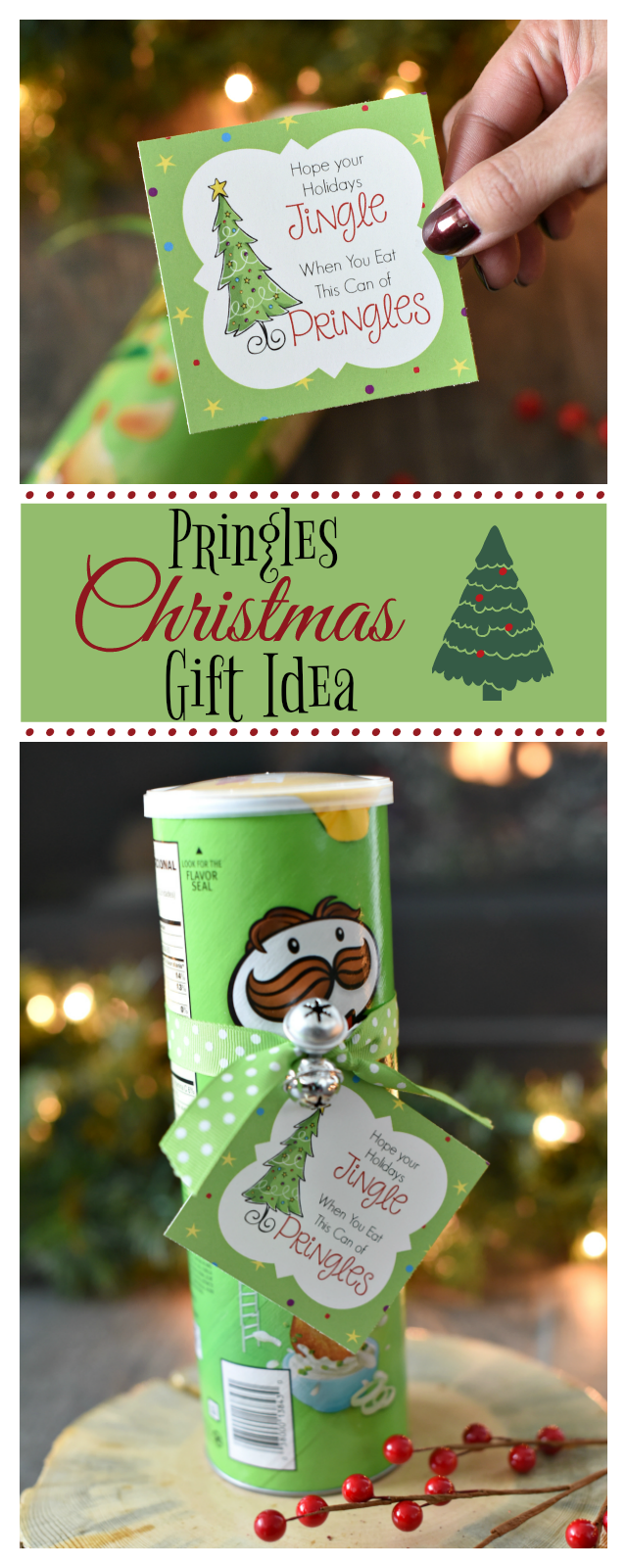 Fun Christmas Gifts 2020 Funny Christmas Gift Idea with Pringles in 2020 | Funny christmas