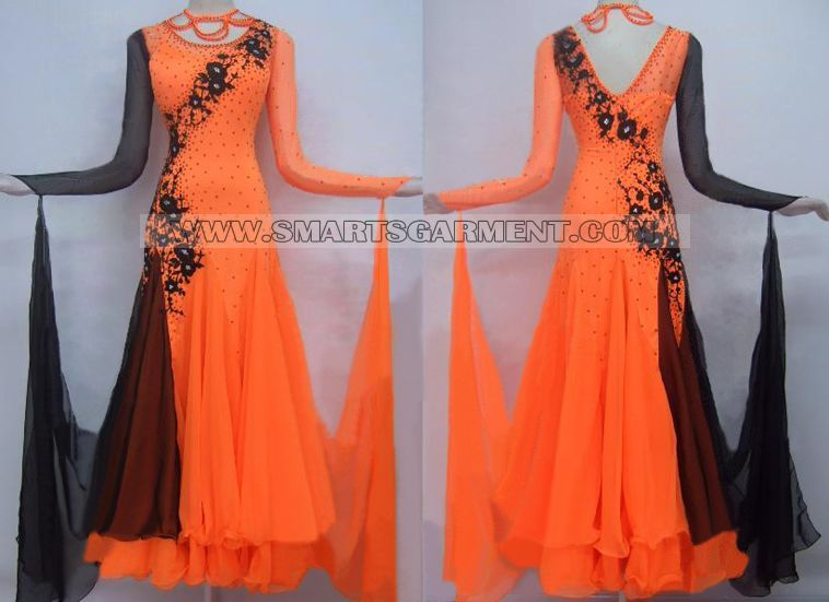 Inexpensive ballroom dancing gowns,Tailor-made Ballroom ...
