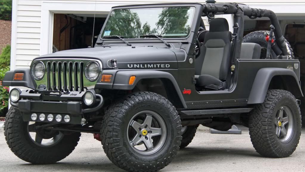 Matte Black Flat Black Paintjobs Jeepforum Com Jeep Wrangler Unlimited Black Jeep Jeep Wrangler