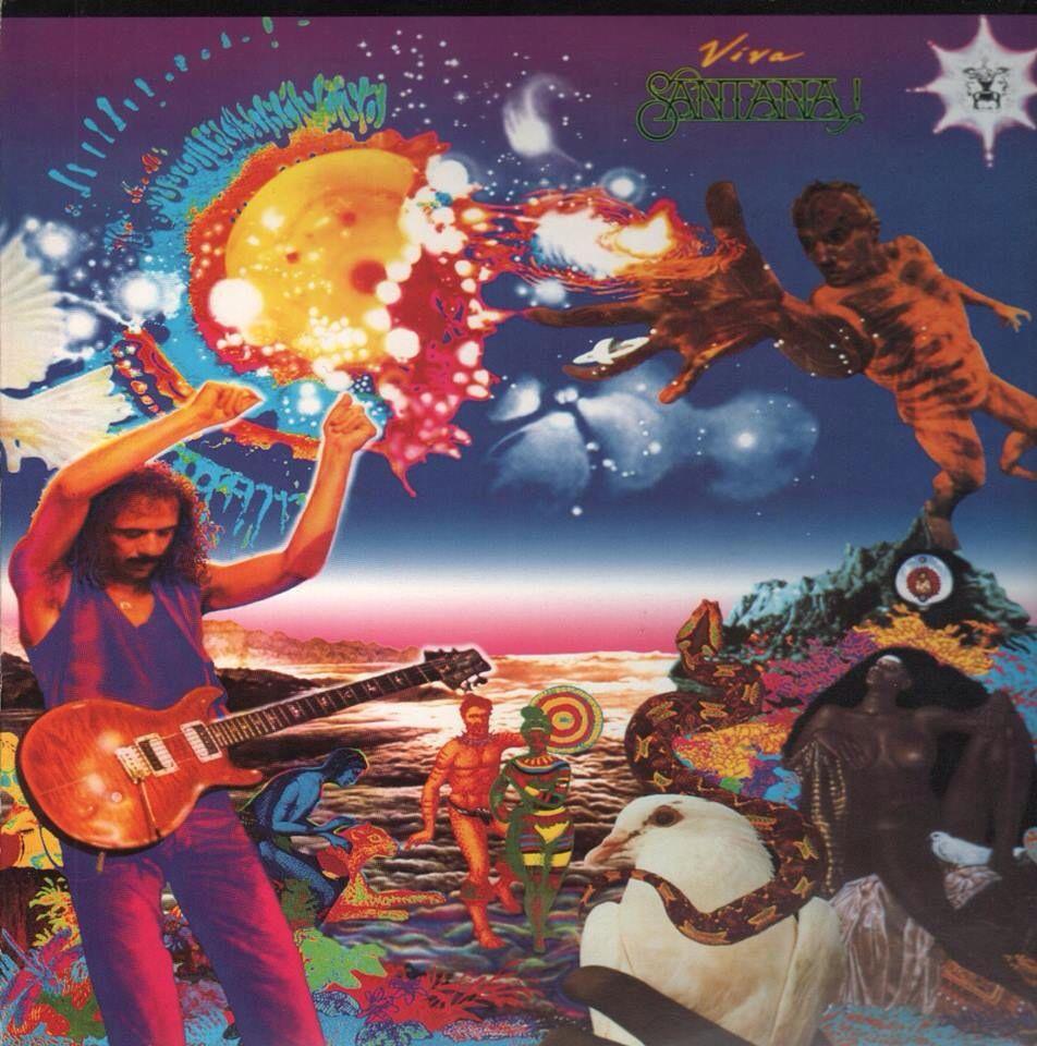 Viva Santana Music Album Cover Album Art Rock Album Covers
