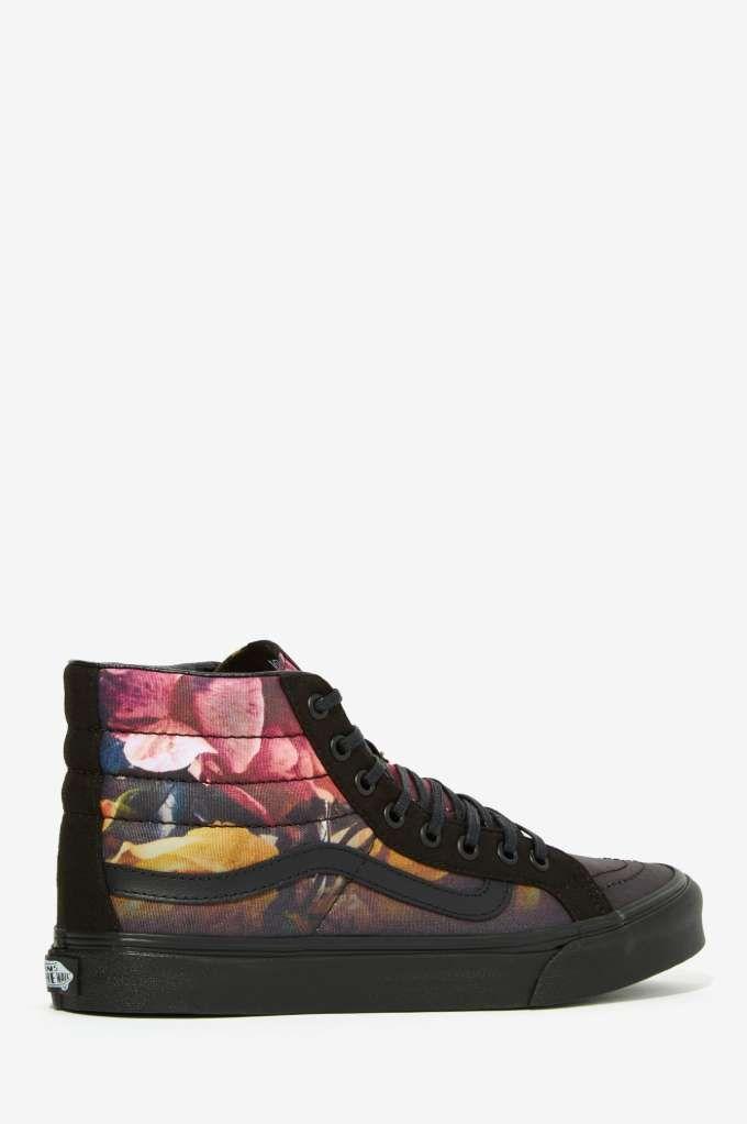 a19107e45aeb55 Vans Sk8-Hi Slim Sneaker - Ombre Floral