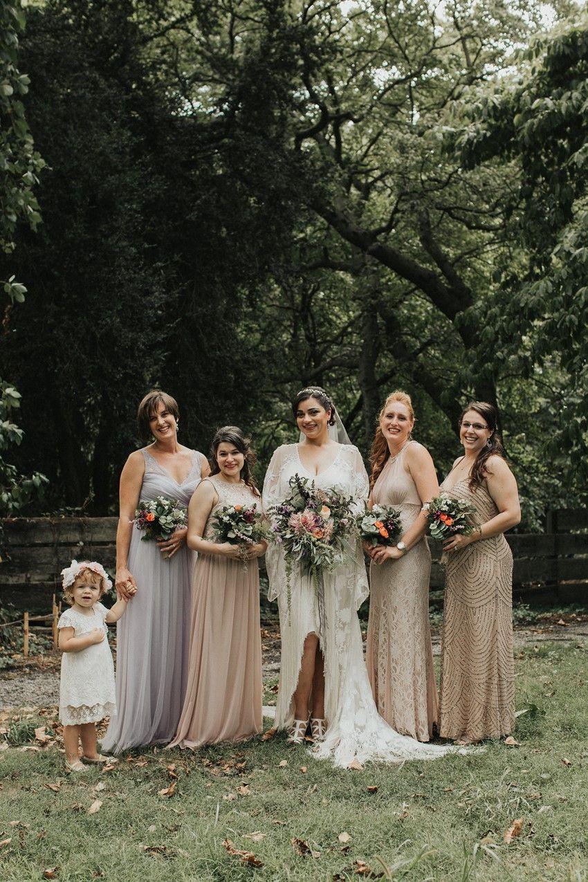 A vintage garden party wedding in a botanical garden wedding chic