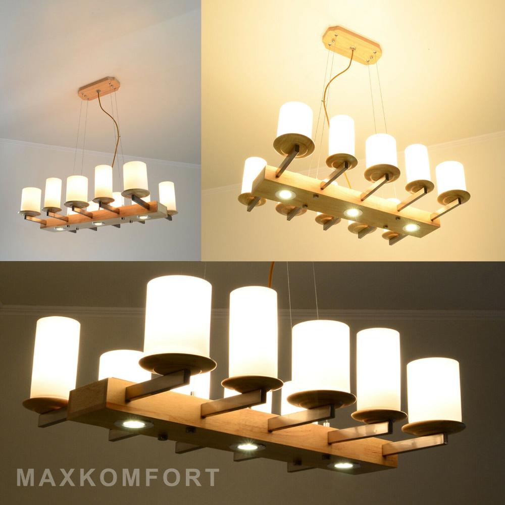 Led Deckenleuchte Hengeleuchte Holz Pendelleuchte Retro Bar Deckenlampe Lampe Ebay In 2020 Pendelleuchte Retro Pendelleuchte Deckenlampe