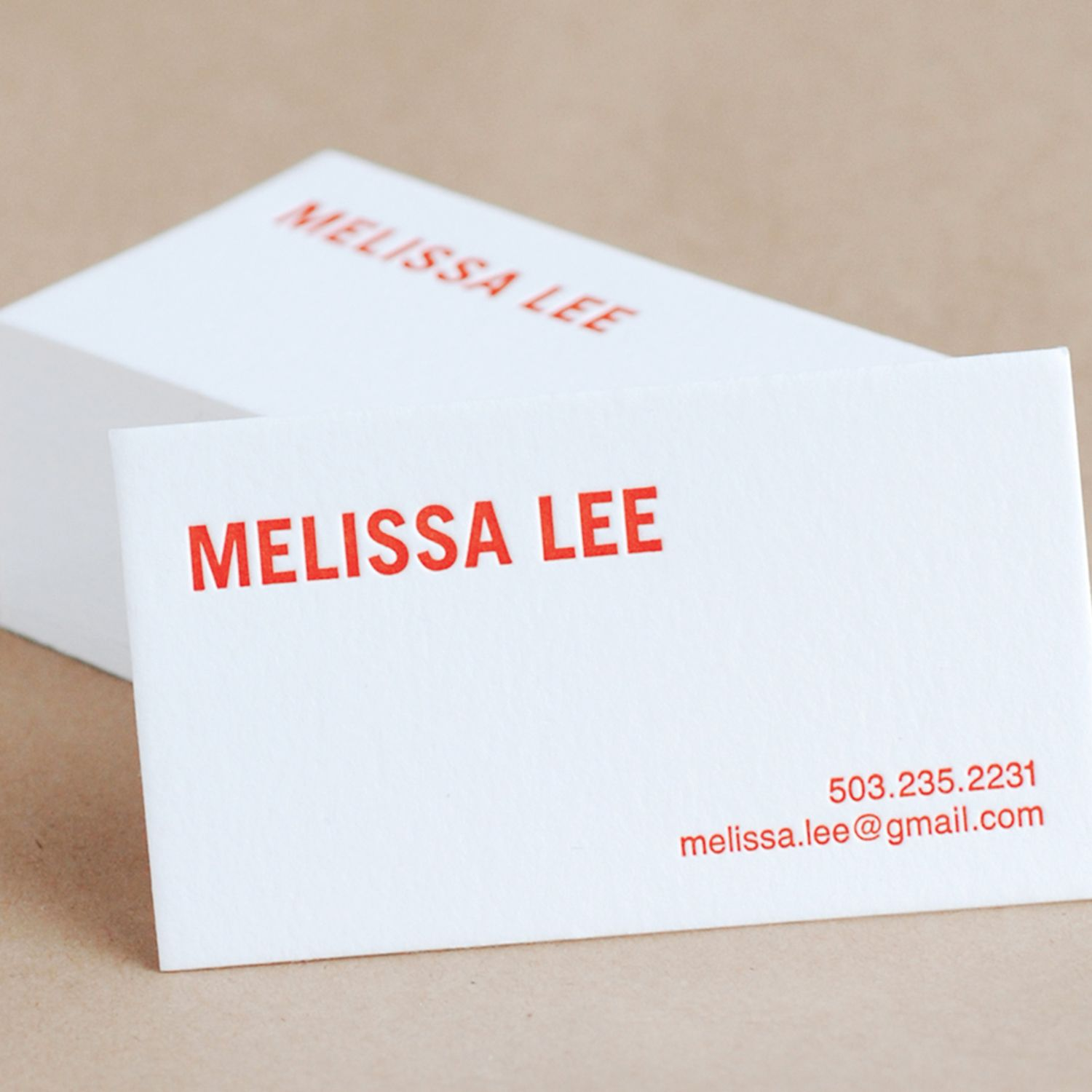bold modern personalized calling cards by ruby press www - Personalized Calling Cards