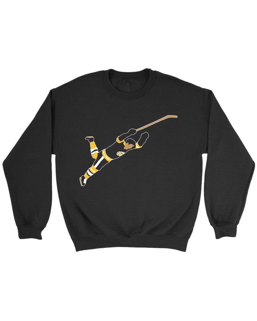Bobby Orr Dive : bobby, Boston, Bobby, Sweatshirt, Sweatshirts,, Graphic