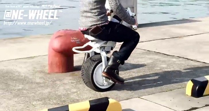 Onewheel Electric Monocyclebrings The Future Of Personal Transport Closer