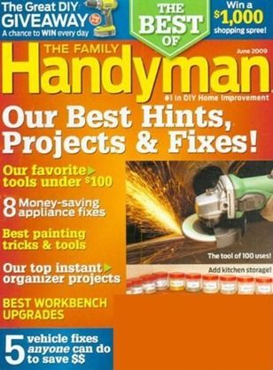 Family Handyman Magazine Just $4.99 A Year!