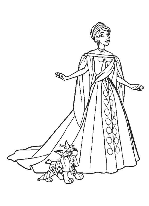 Anastasia Coloring Pages 4