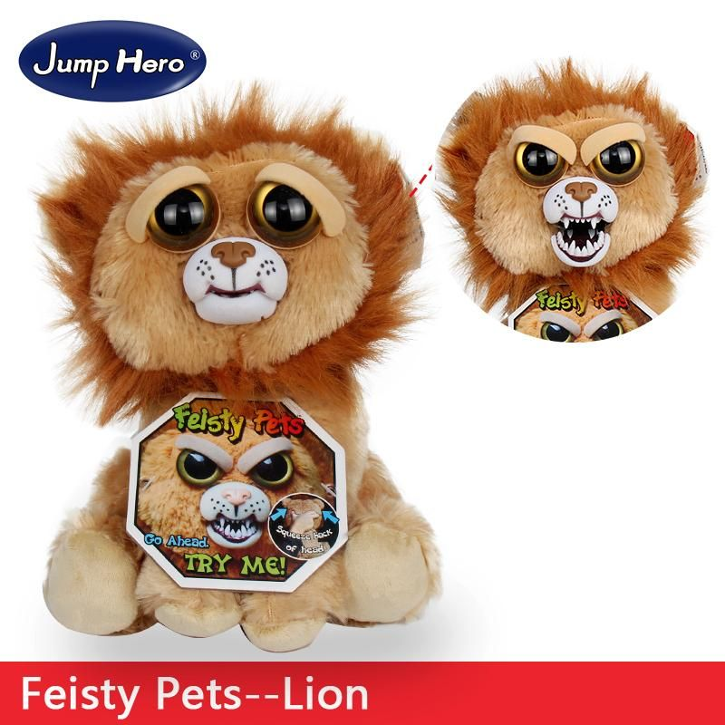 Feisty Pets Plush Dolls Toys Change Face Facebook Hot Sales Funny