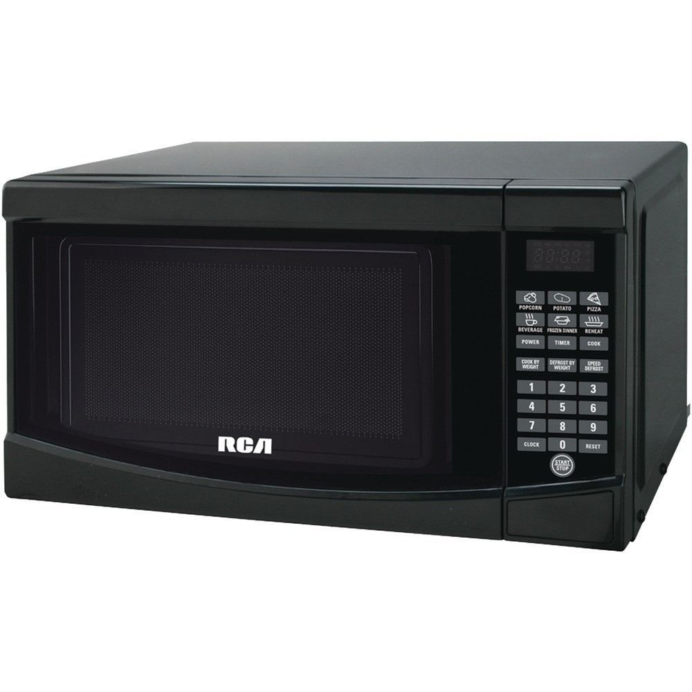 Rca 7 Cubic Ft Microwave Black Countertop Microwave Oven Countertop Microwave Digital Microwave