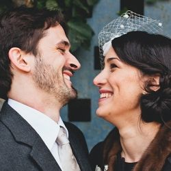 Sweet, simple and gorgeous - the lovely wedding of Nejma & Nicolas