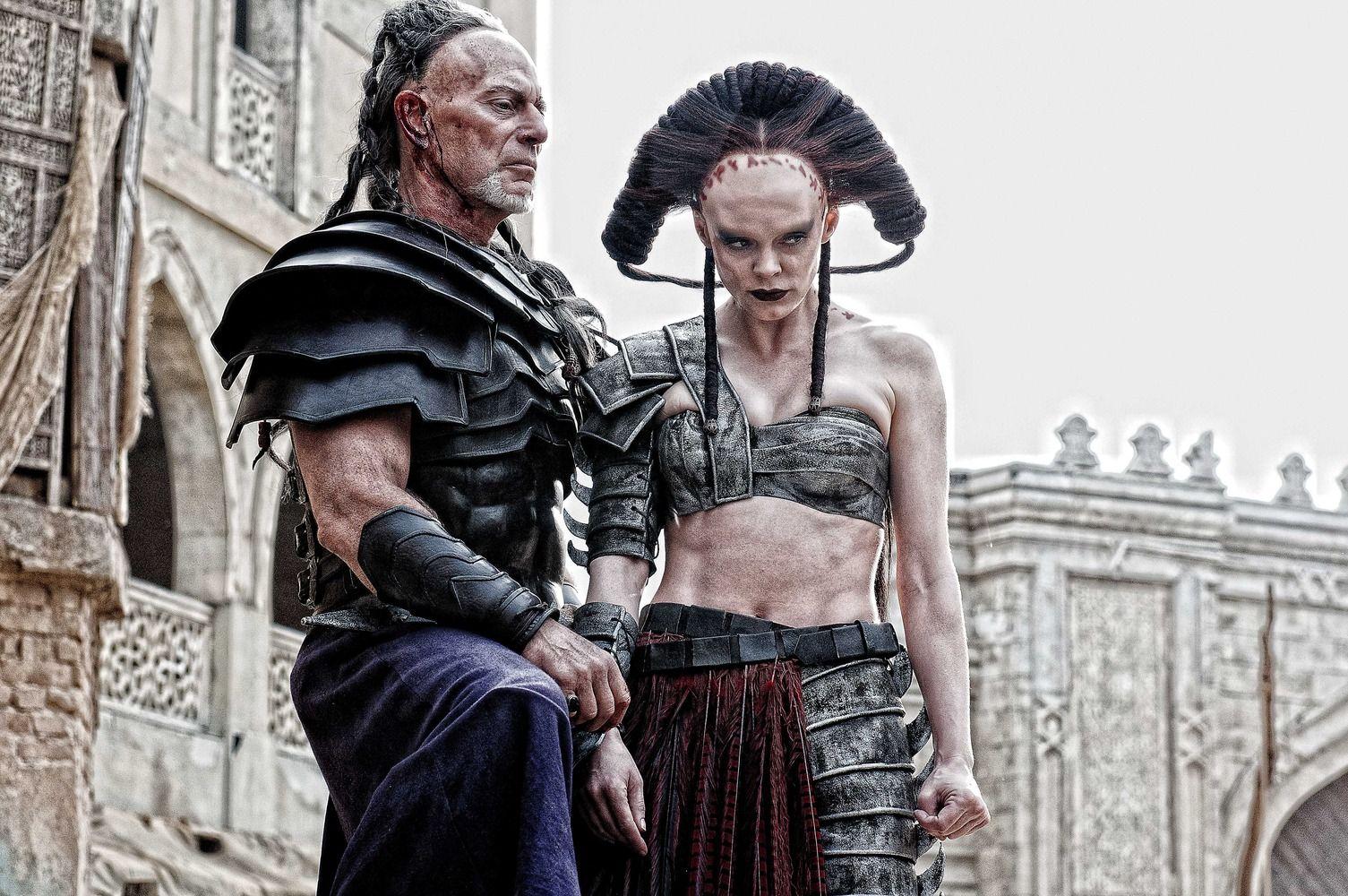 Rose McGowan as Marique - Conan the Barbarian (2011