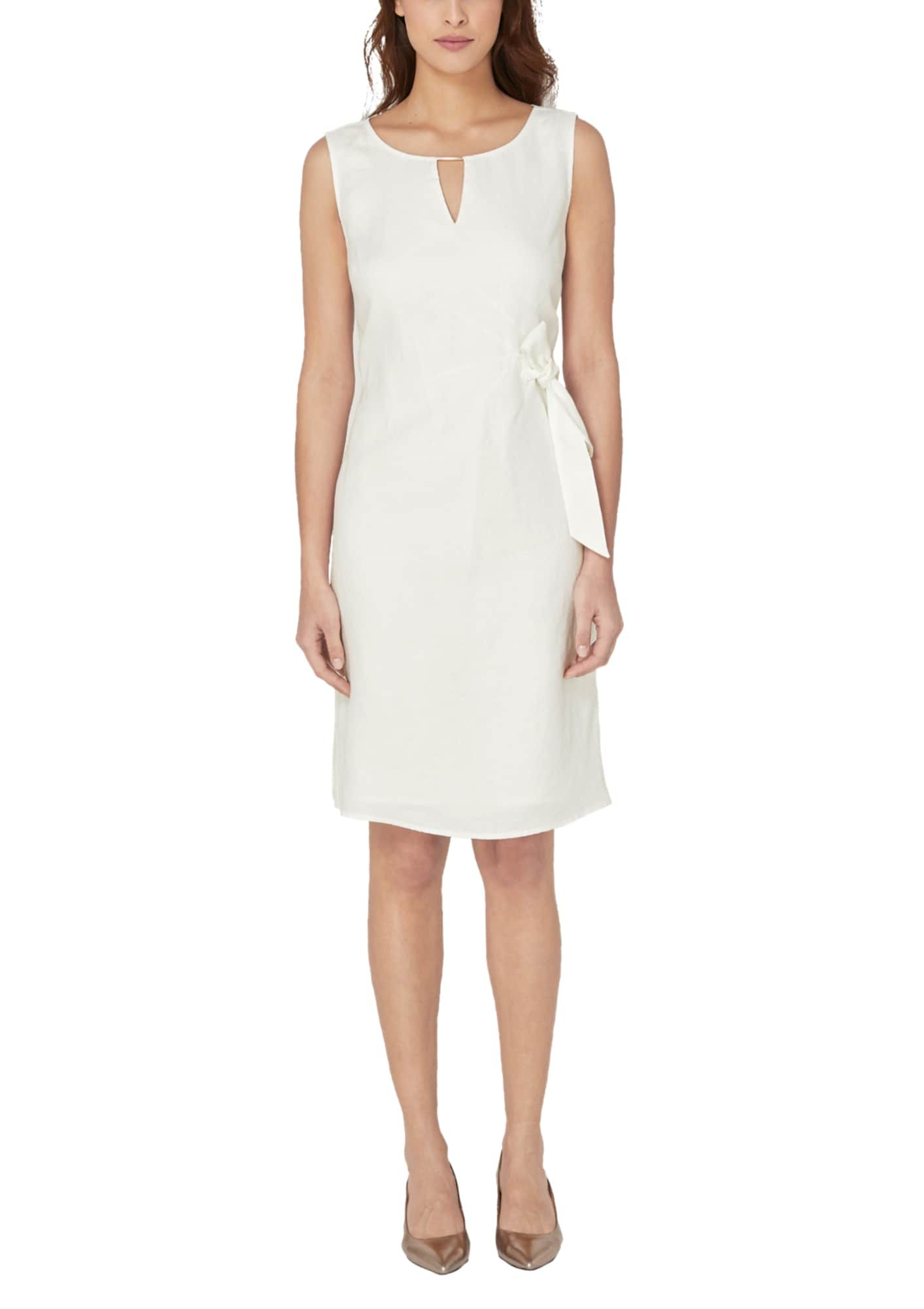 S.Oliver BLACK LABEL Kleid Damen, Weiß, Größe 18  Kleider, Kleid