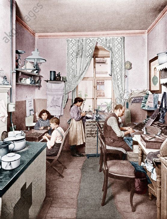 Berlin Wohnung Heimarbeit Foto 1910berlin Wohngebaude Berlin