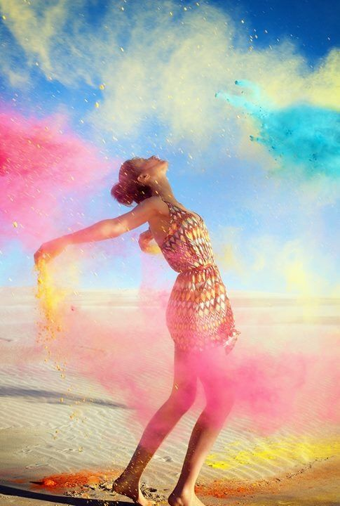 Free and colorful