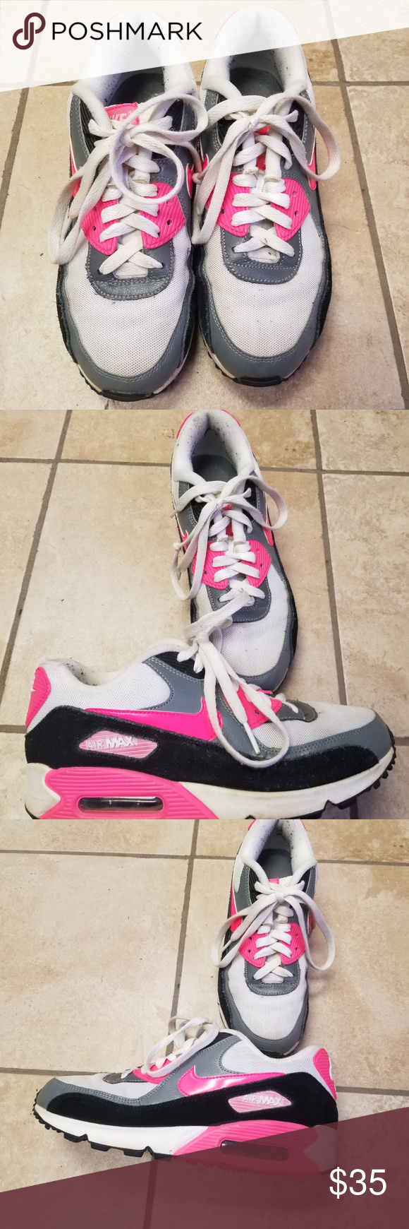 Nike AirMax Women size 8 used Nike Shoes Athletic Shoes