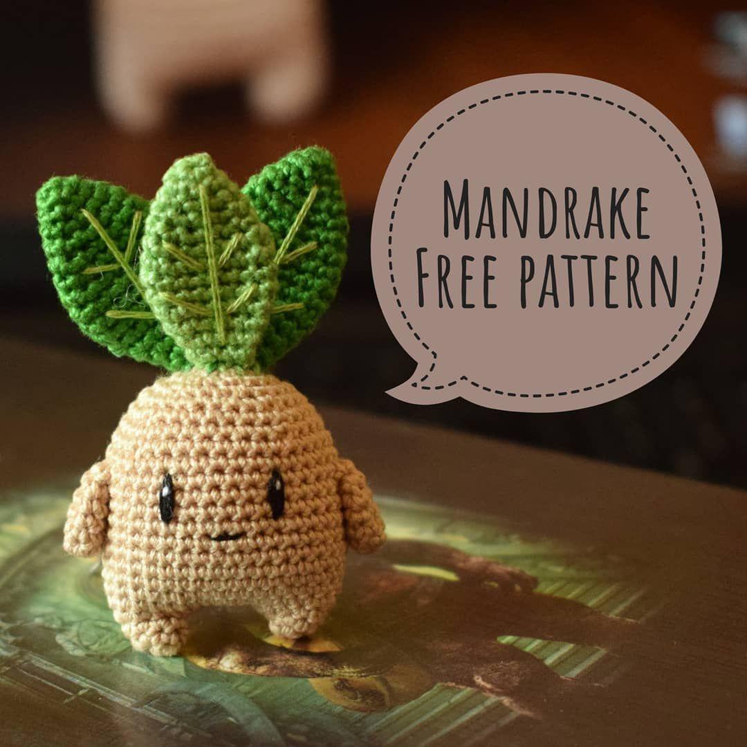 Mandrake amigurumi pattern - Amigurumipatterns.net | 1080x1080