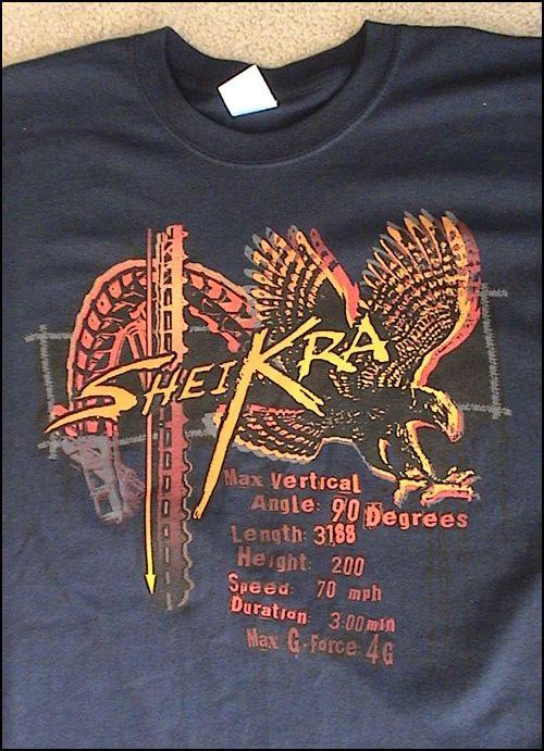 Shiekra Busch gardens Tampa bay t shirt   Clothes   Busch