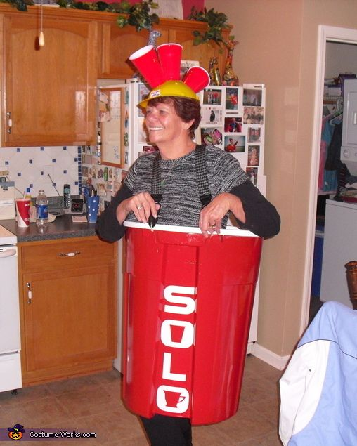 anyone for beer pong red solo cup costume