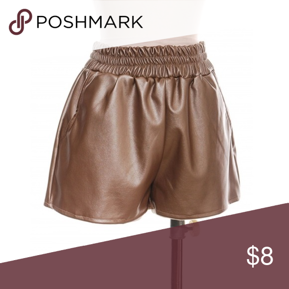 Bronze Shorts Hello ❤️❤️ Thanks For Viewing This Item. I Used To Own A Boutique And Now Everything Must Go.  Item Info:  💎 Brand New/With Or Without Tags 💎 Loose Fit // Fits True To Size  ✨All Offers Accepted✨  All Items are brand new and marked really low so please make a reasonable offer. Bundle To Get $$$ off.  All items ship same day // Final Sale  Follow Instagram.com/MontiMaa Shorts Skorts
