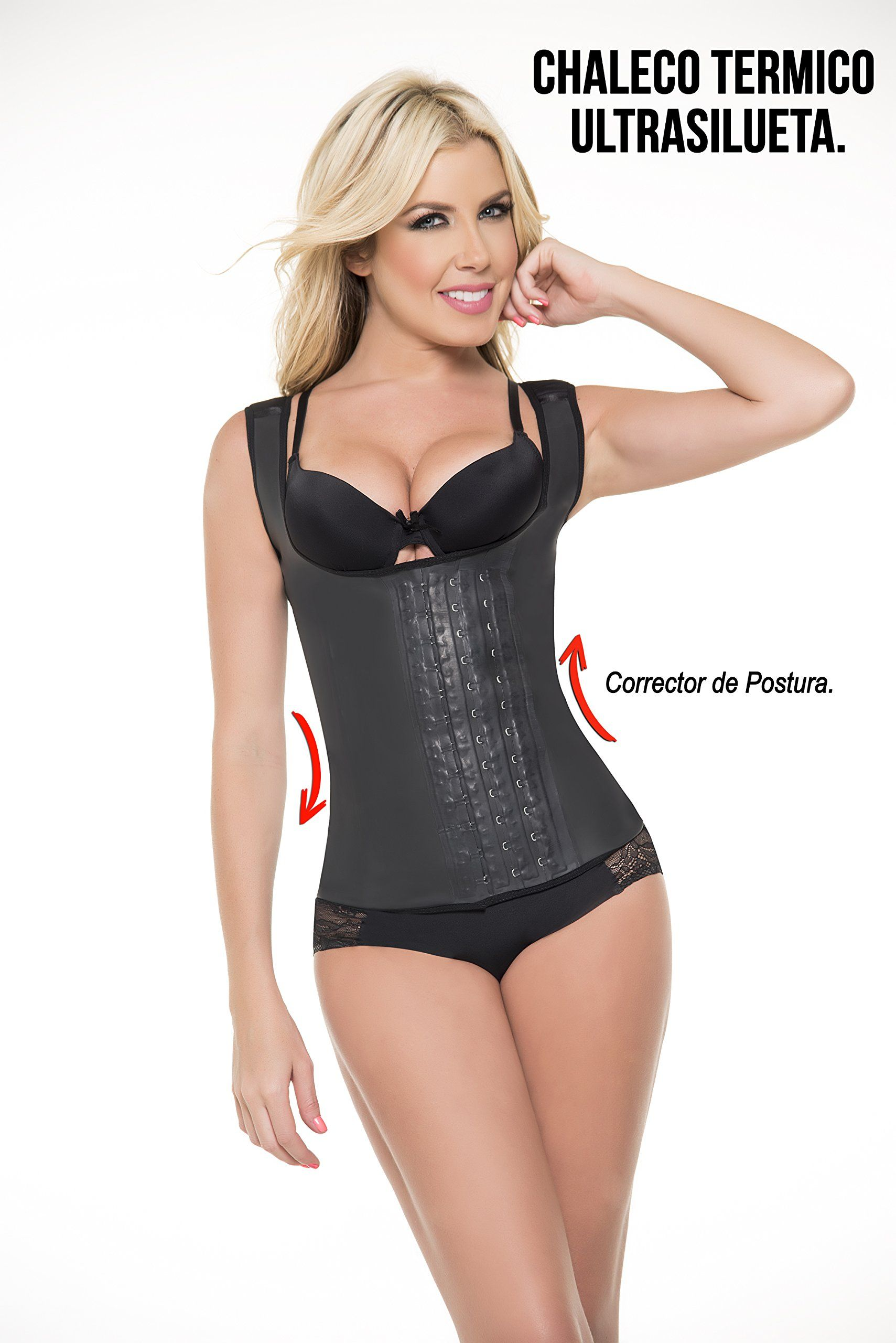2c82ad6c6d5 Chaleco Faja Latex Made in Colombia Vest Waist Shapewear Undergarment Latex  Dijon 36    More info could be found at the image url.