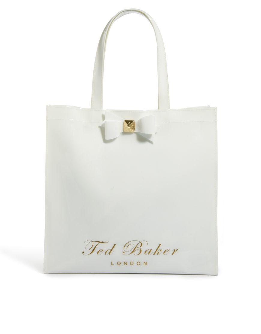 Hello, I'm the lovely bag! Ted Baker Large Bow Ikon Shopper $66.18