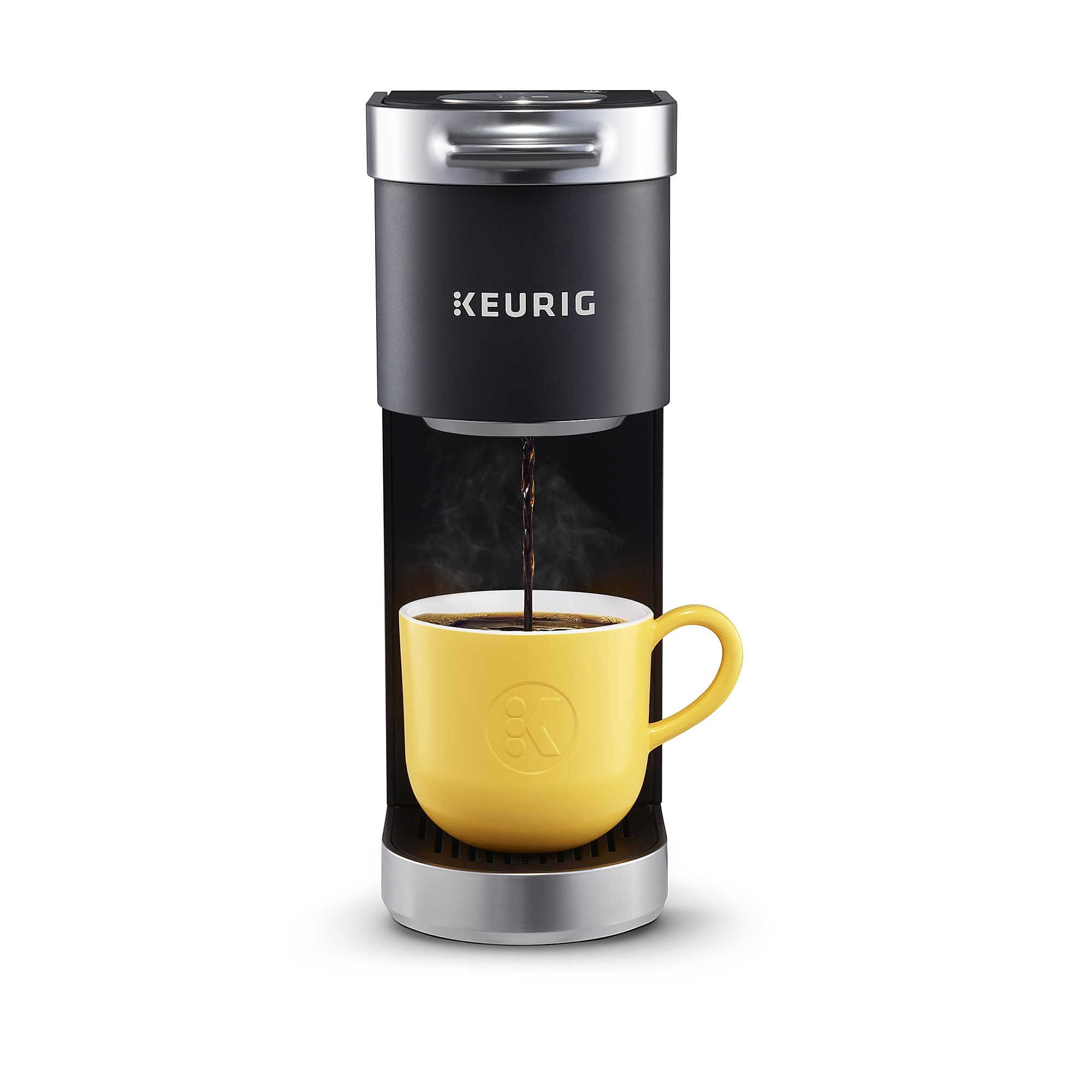 Keurig K Mini Plus Single Serve K Cup Pod Coffee Maker Camping Coffee Maker Single Coffee Maker Pod Coffee Makers