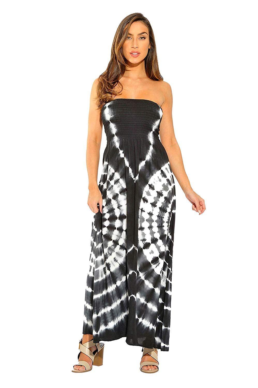8fc31c040bc1 Riviera Sun Strapless Tube Maxi Dress Summer Dresses at Amazon Womens  Clothing store, Amazon Affiliate