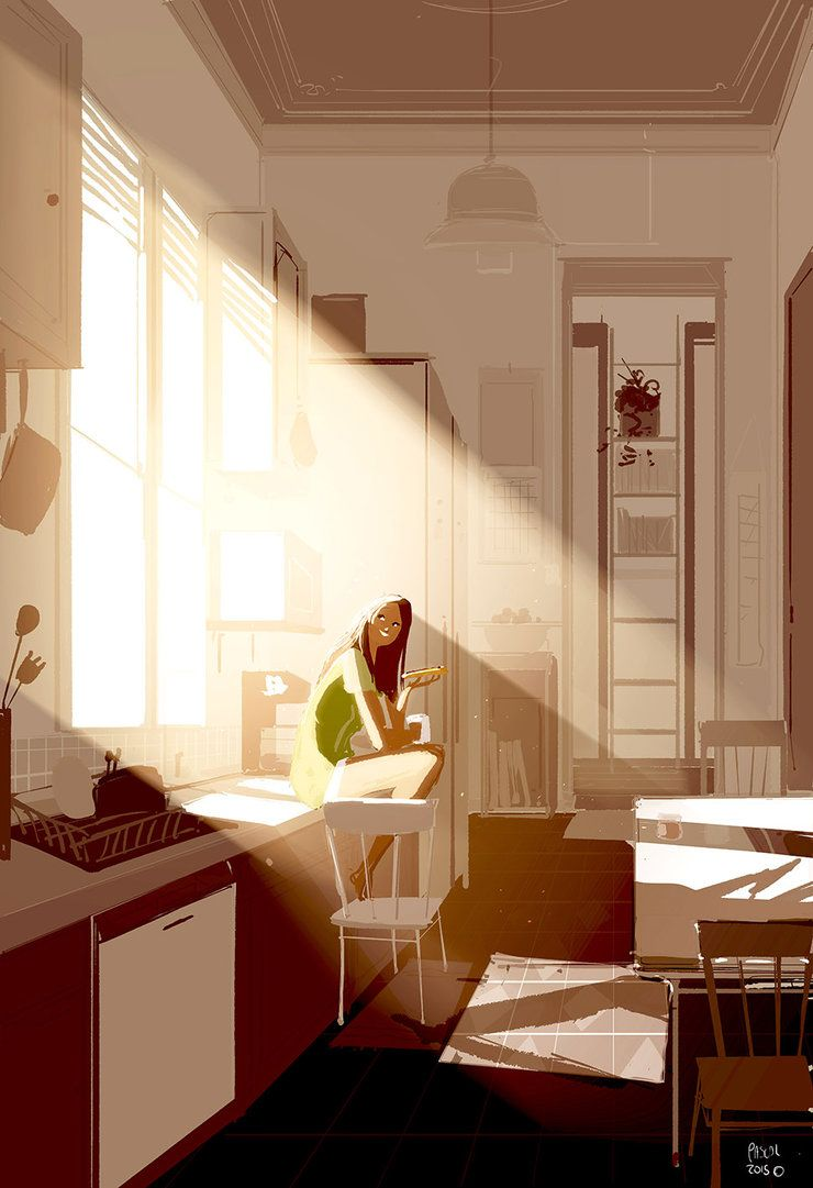 Sunshine, bread, and Nutella. by PascalCampion on DeviantArt