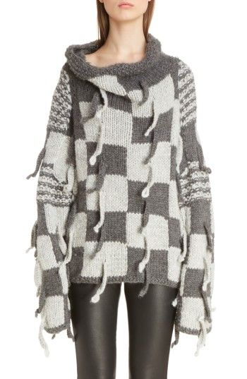 b3a9ab264e Free shipping and returns on Loewe Chunky Knit Wool  amp  Alpaca Sweater at  Nordstrom.