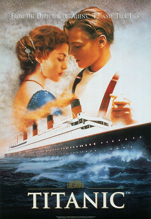 Titanic Movie Poster! The ultimate romantic classic | Date Night ...