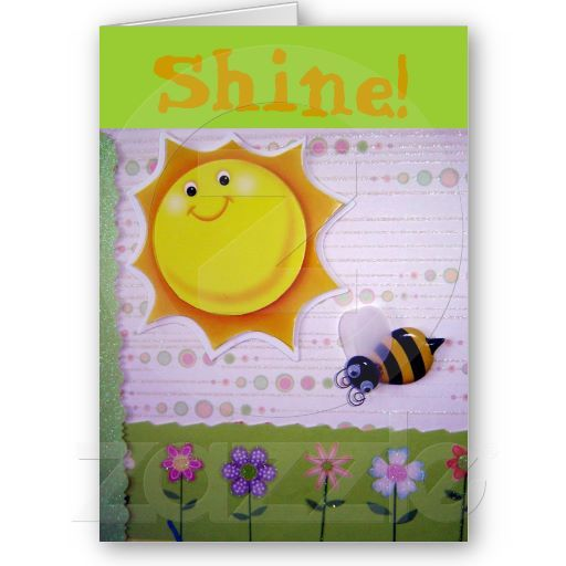 You are the sunshine! greeting cards