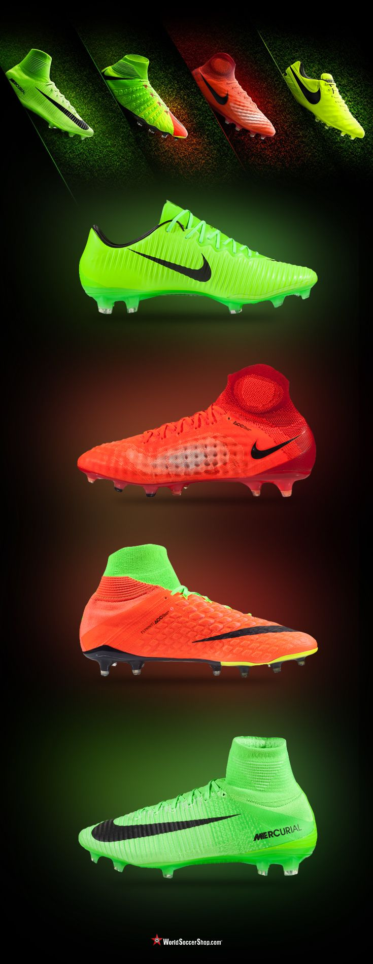 New Nike Radiation Flare Pack The Second Half Of The Season Is Here And Nike Soccer Has Revea Soccer Cleats Nike Soccer Shoes Nike Football Boots
