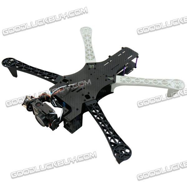 Tbs Qu4d 450mm Carbon Fiber Alien Aircraft Quadcopter