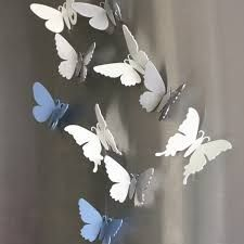 Butterfly fridge magnets    http://www.delve.co.uk/decorative/175-silver-butterfly-fridge-magnet.html