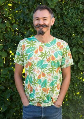 """T-Shirt """"Papaya"""" aus Öko-Baumwolle 62406-75.jpg"""