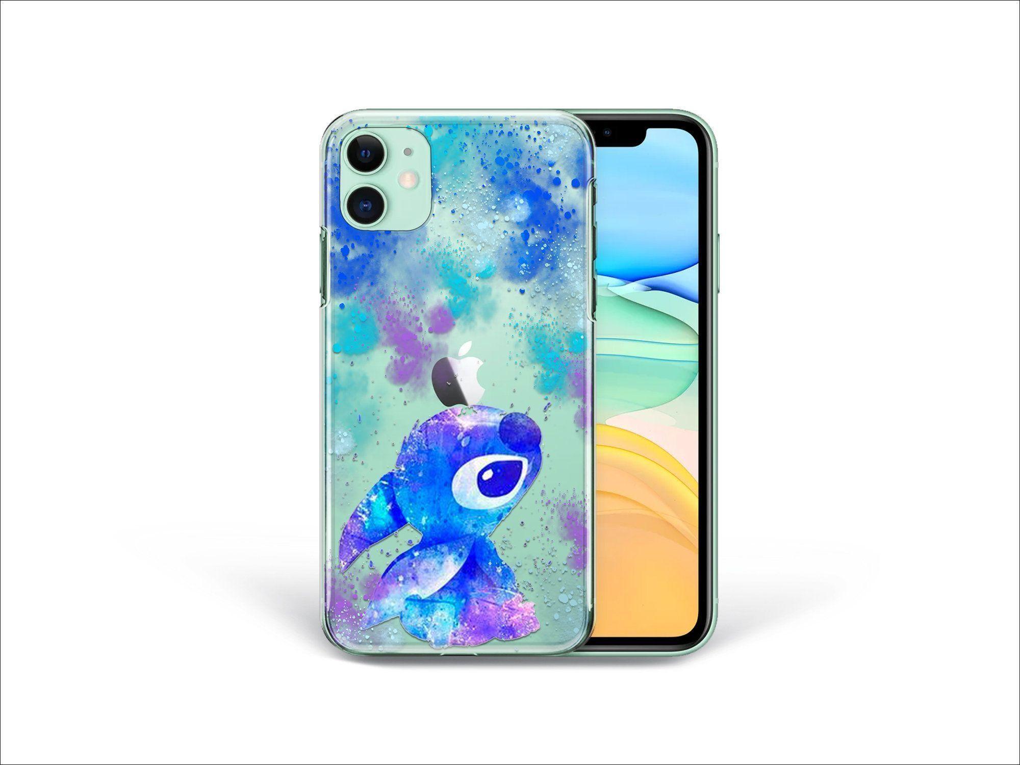 Cute Stitch Case iPhone 11 Pro Max iPhone XR Case Alien