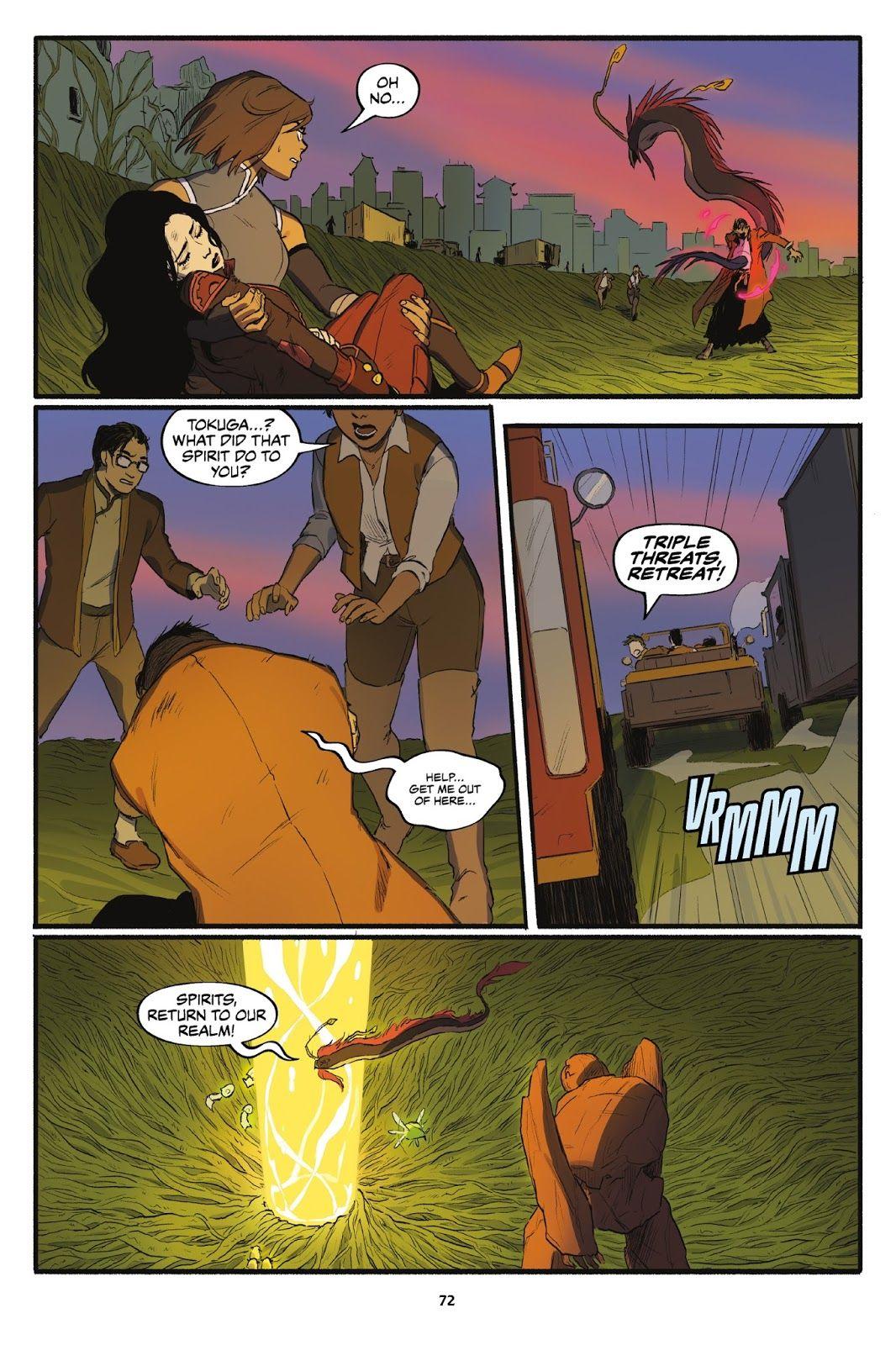 nickelodeon the legend of korra turf wars issue 1 read