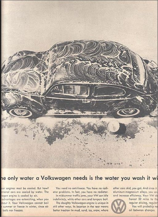 #lazycampers ##AdsWeLike All The Great 1960s Volkswagen Ads