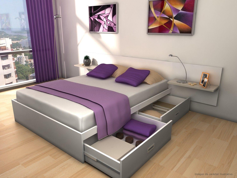 Camas 200x200 con cajones szukaj w google strych pomys y pinterest bedroom bed and - Sofas con cajones ...