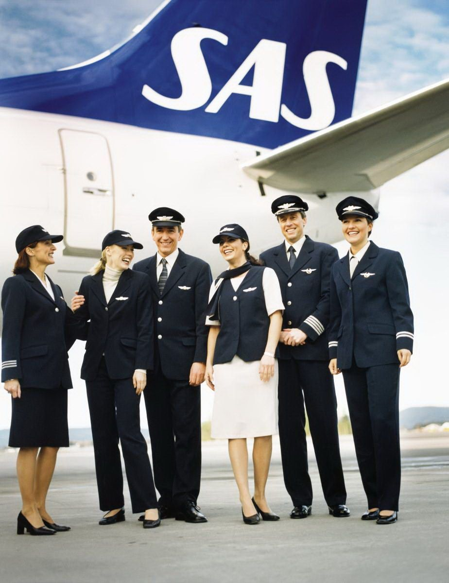 The Airline Scandinavian Airlines World Stewardess Crews Airline Cabin Crew Airlines Aviation Humor